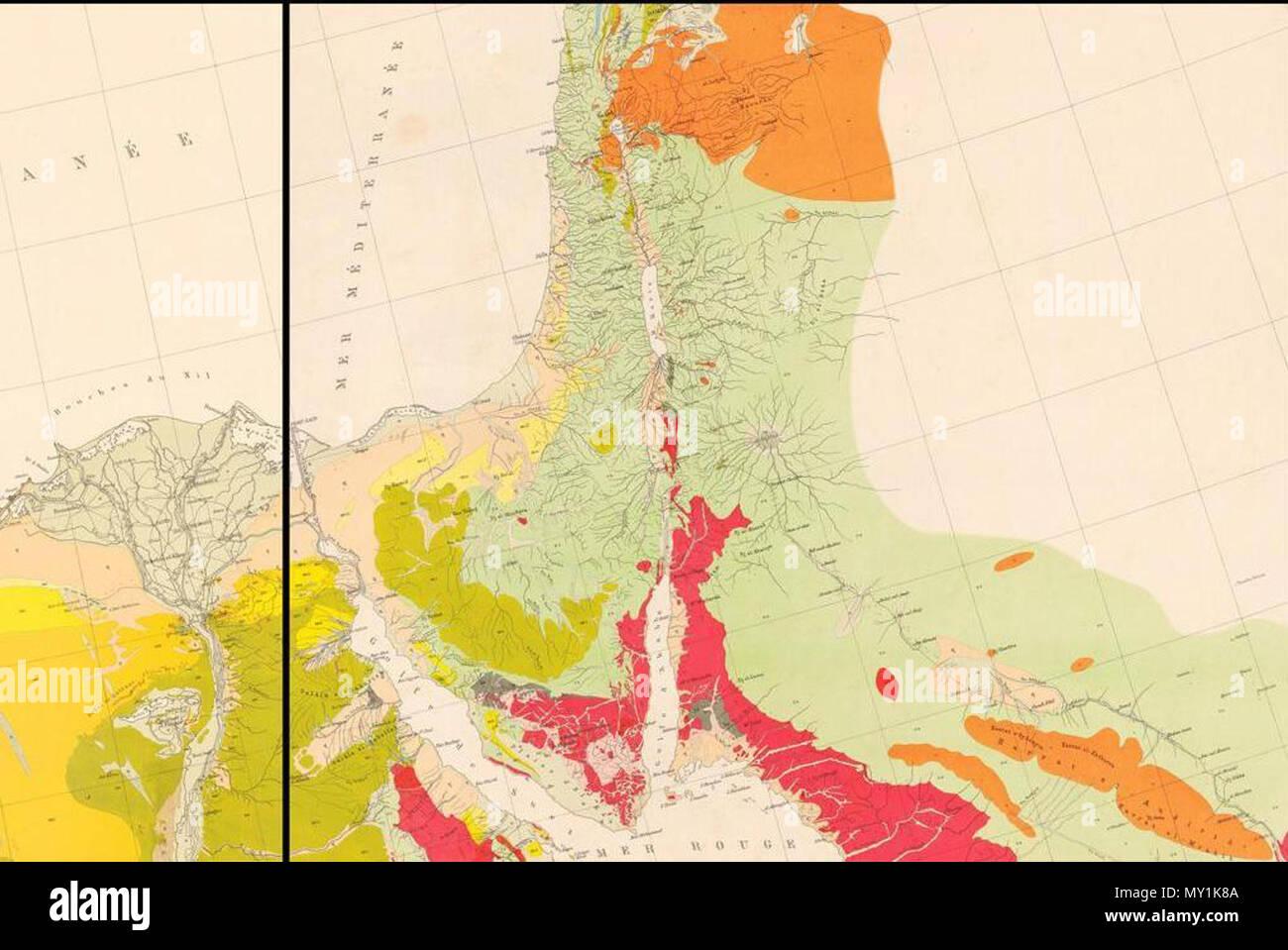 Cartes géologiques du bureau de recherche géologique et minière brgm