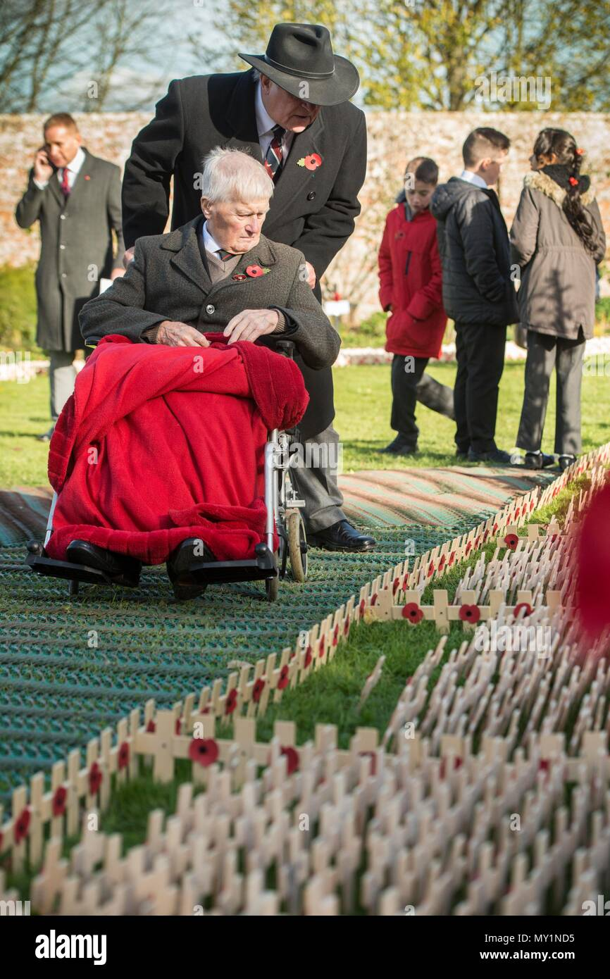 Royal wootton bassettt field of remembrance opens at lydiard park royal wootton bassettt field of remembrance opens at lydiard park swindon 101117 izmirmasajfo