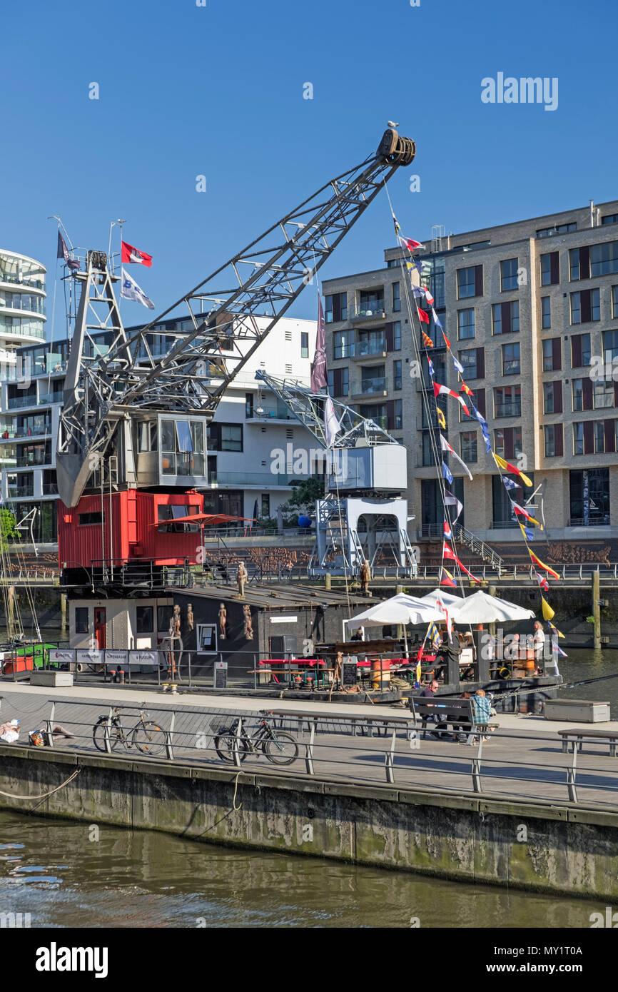HafenCity Hamburg Germany - Stock Image
