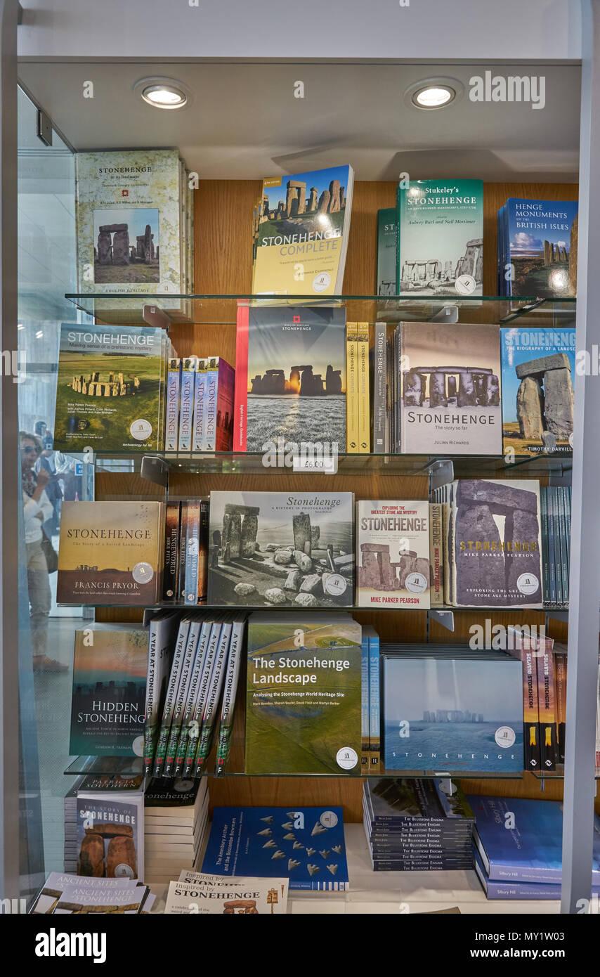 Stonehenge visitor shop - Stock Image