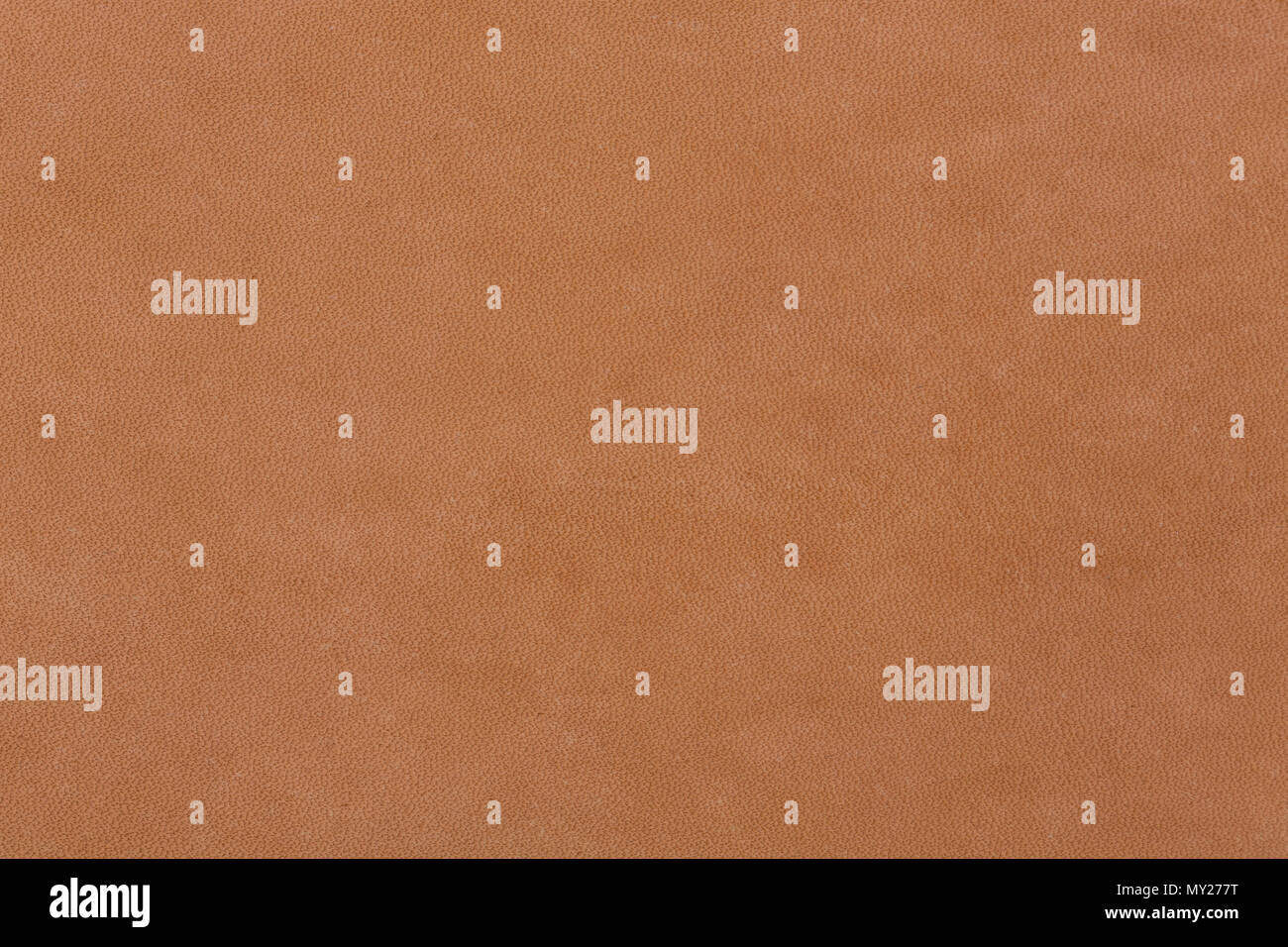 Background of natural brown leather texture. - Stock Image