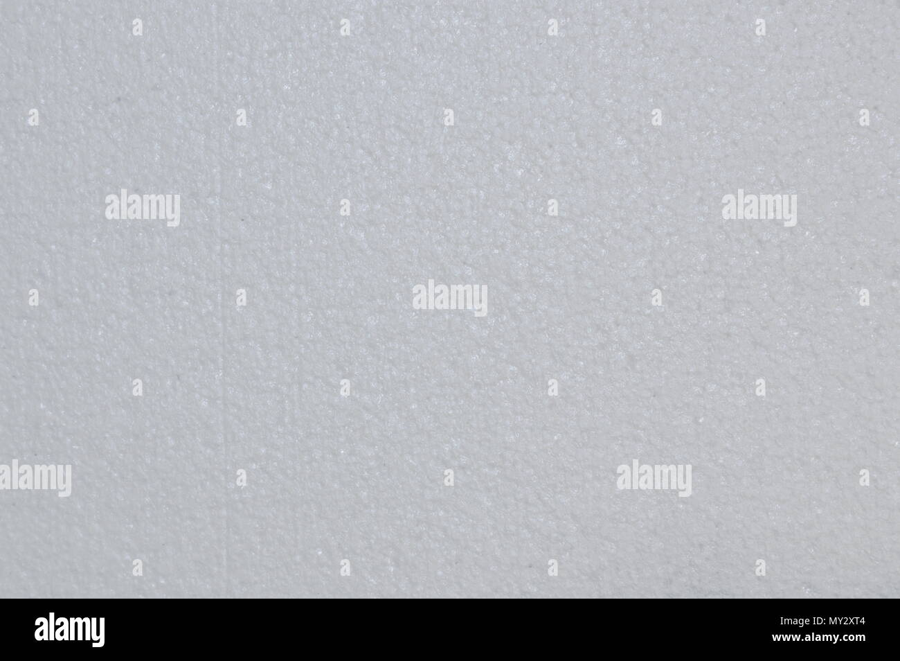 white foam board texture and background - Stock Image