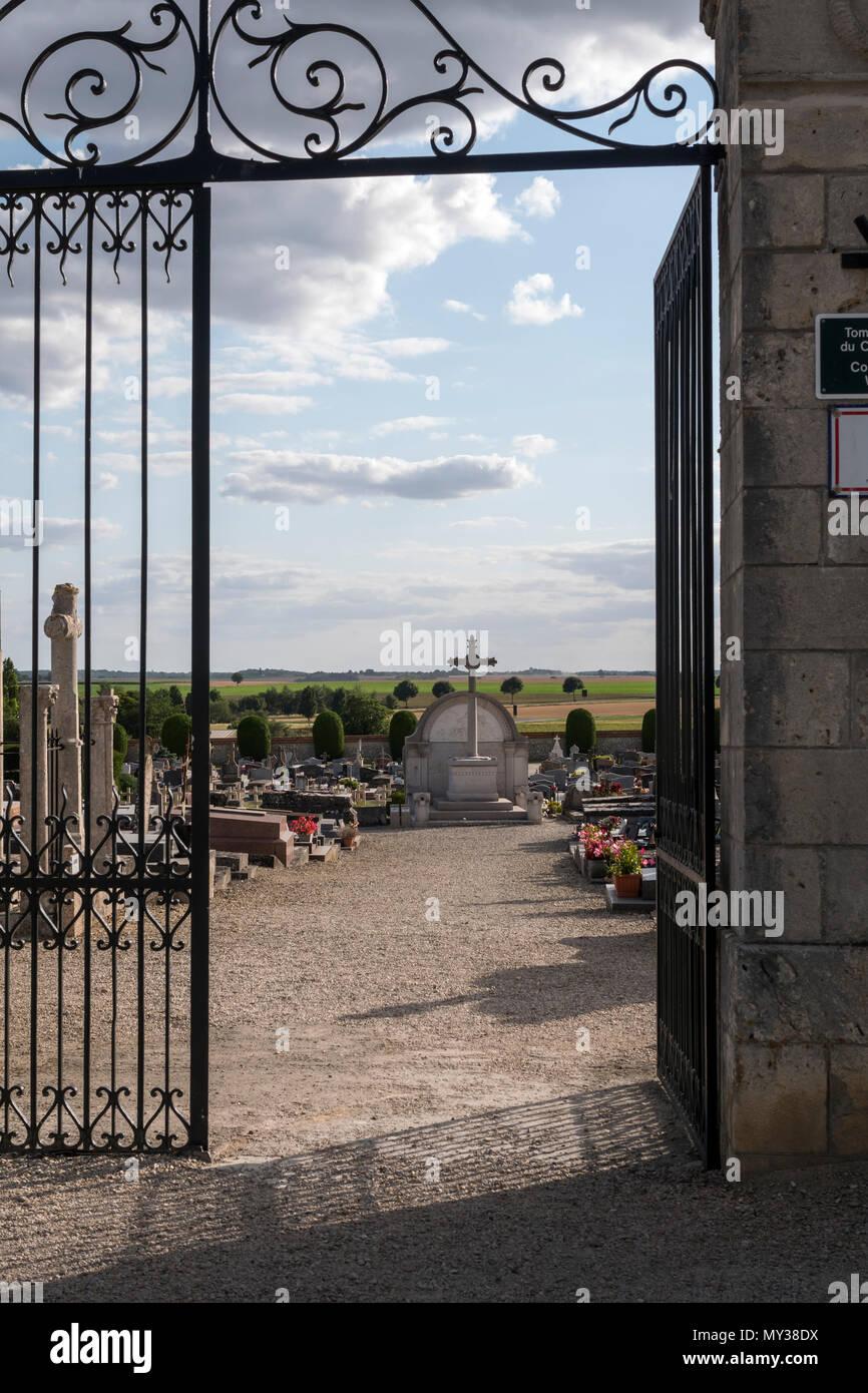 Commonwealth War Graves Provins Seine-et-Marne Ile-de-France France - Stock Image