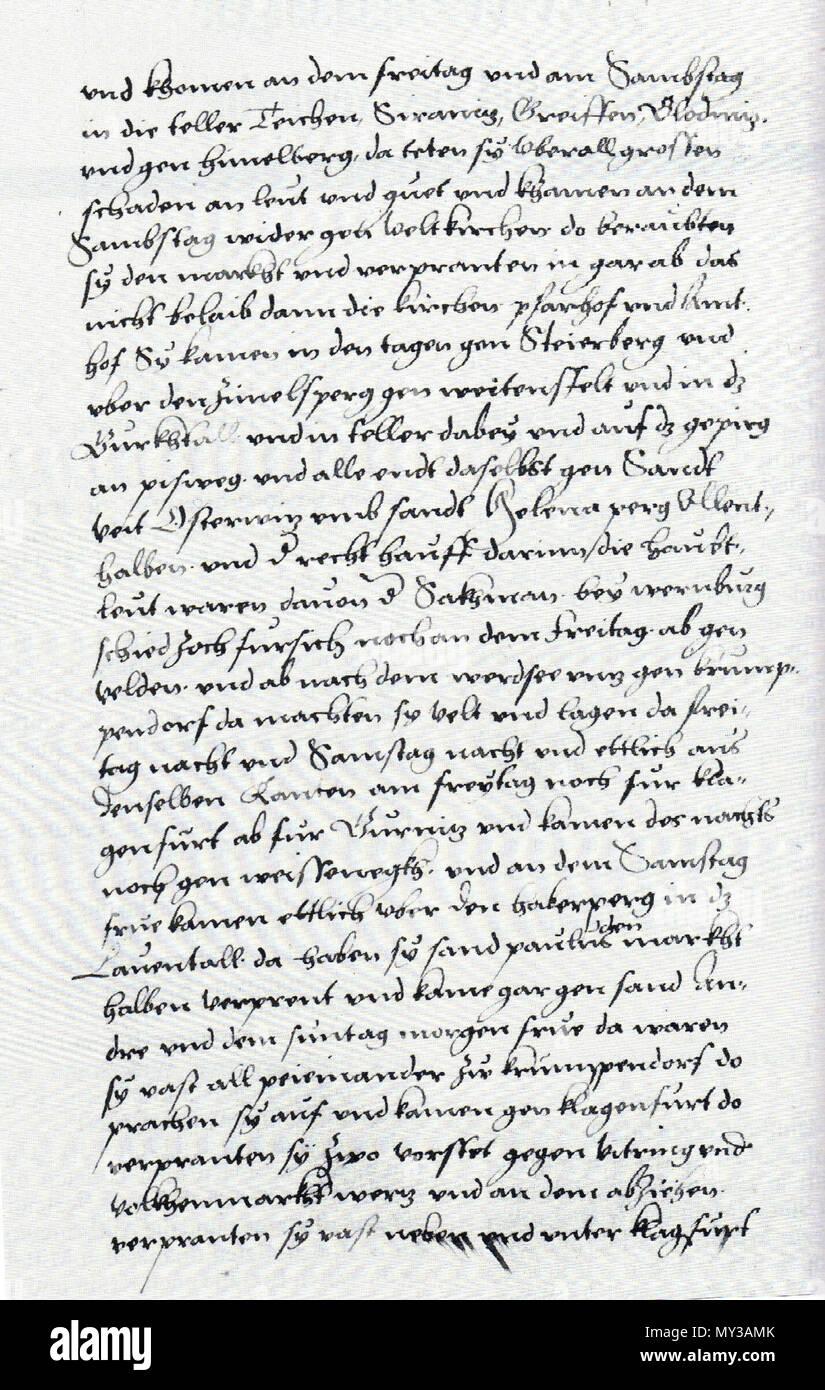 Jakob Unrest österreichische Chronik önb Wien Cod 8007 Bl 115r