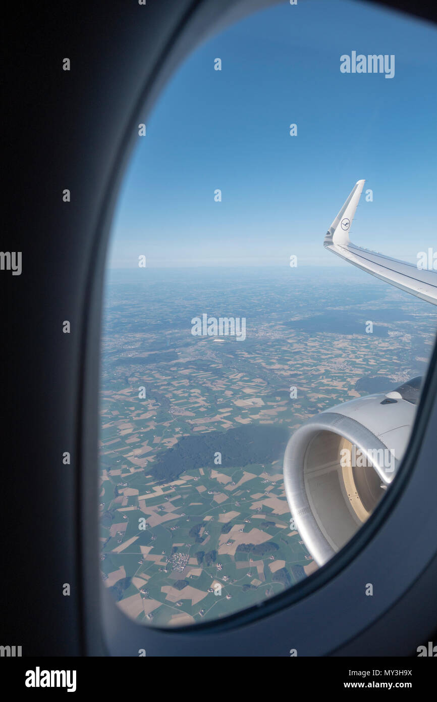 Miraculous View From Window Airbus A320 Stock Photos View From Window Bralicious Painted Fabric Chair Ideas Braliciousco