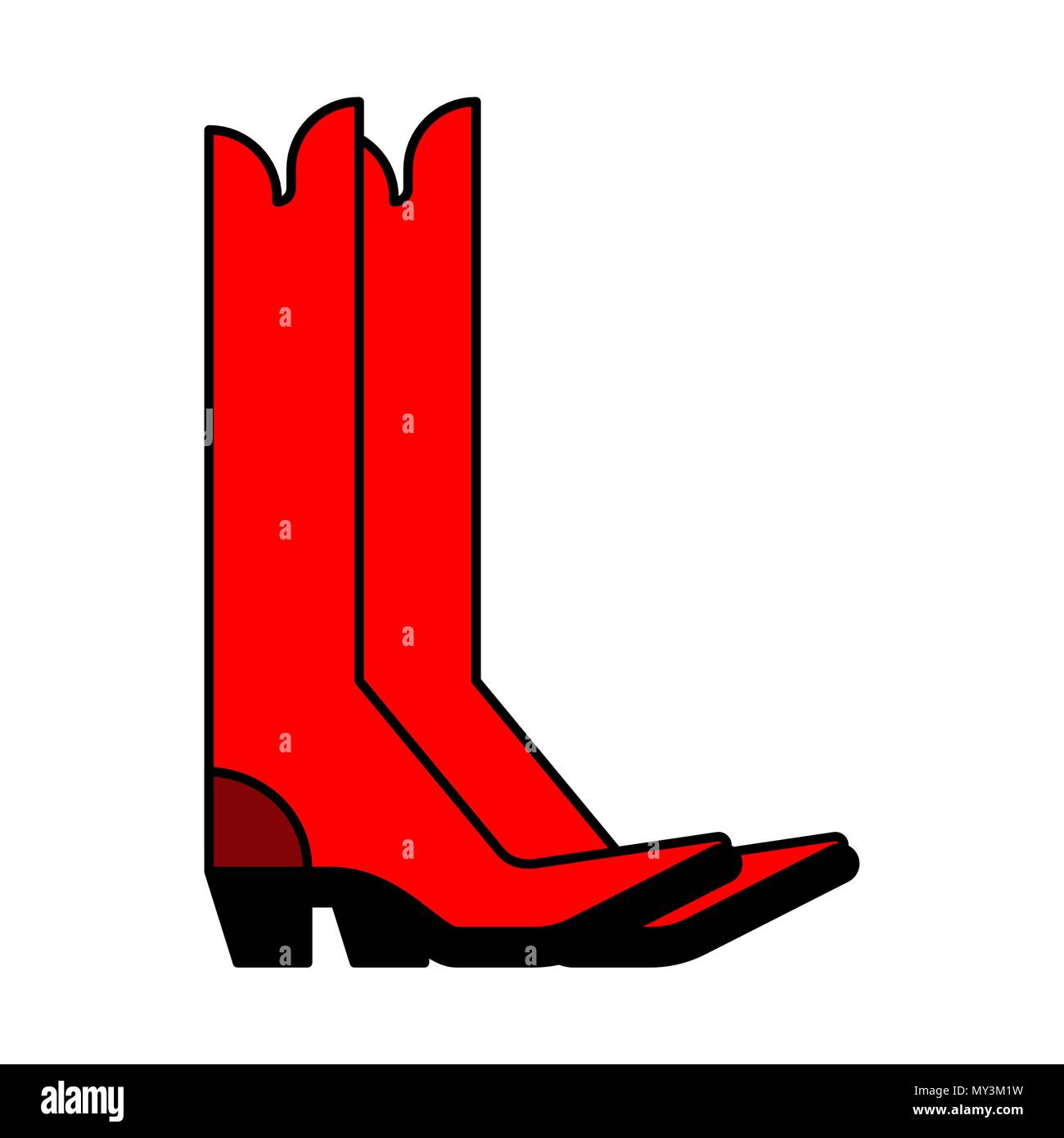 ba247f4278a Work Boot Vector Vectors Stock Photos & Work Boot Vector Vectors ...