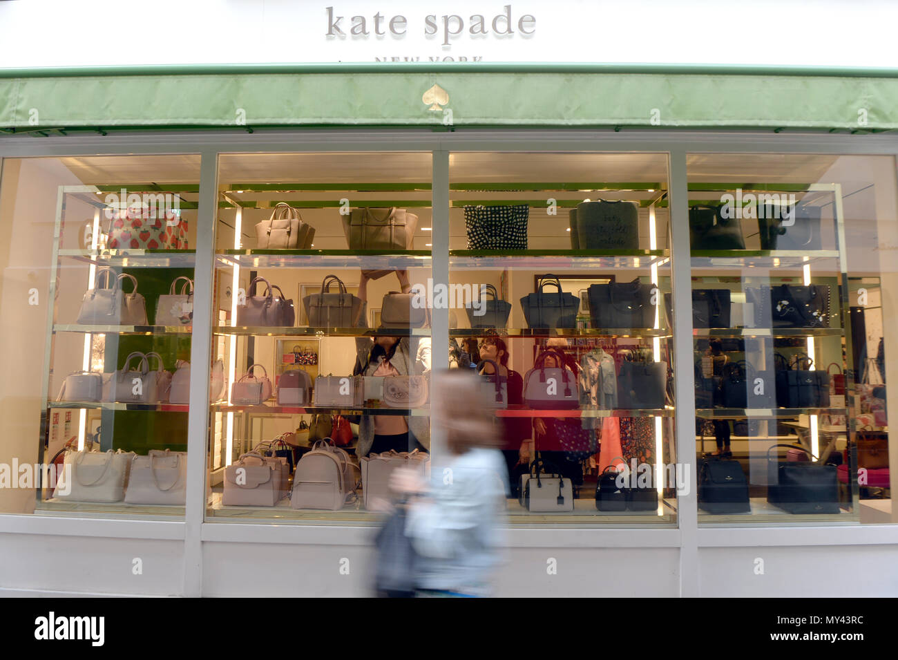 A Kate Spade Shop In London The American Fashion Designer Kate Spade 55 Was Found Dead In Her Apartment In New York On Tuesday Following An Apparent Suicide Law Enforcement Officials Said