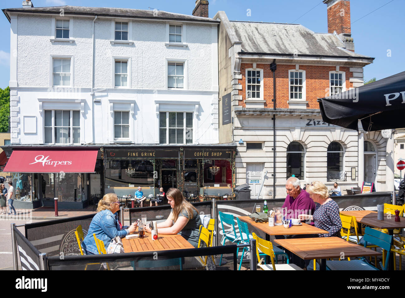 Pizza Express Restaurants Stock Photos Pizza Express
