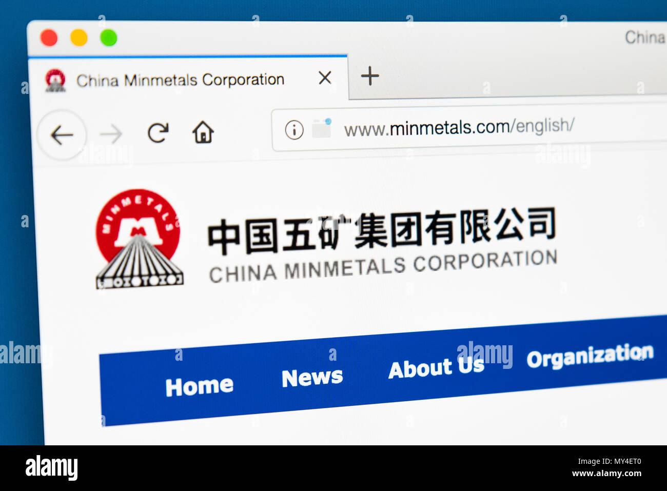China Minmetals Stock Photos & China Minmetals Stock Images - Alamy