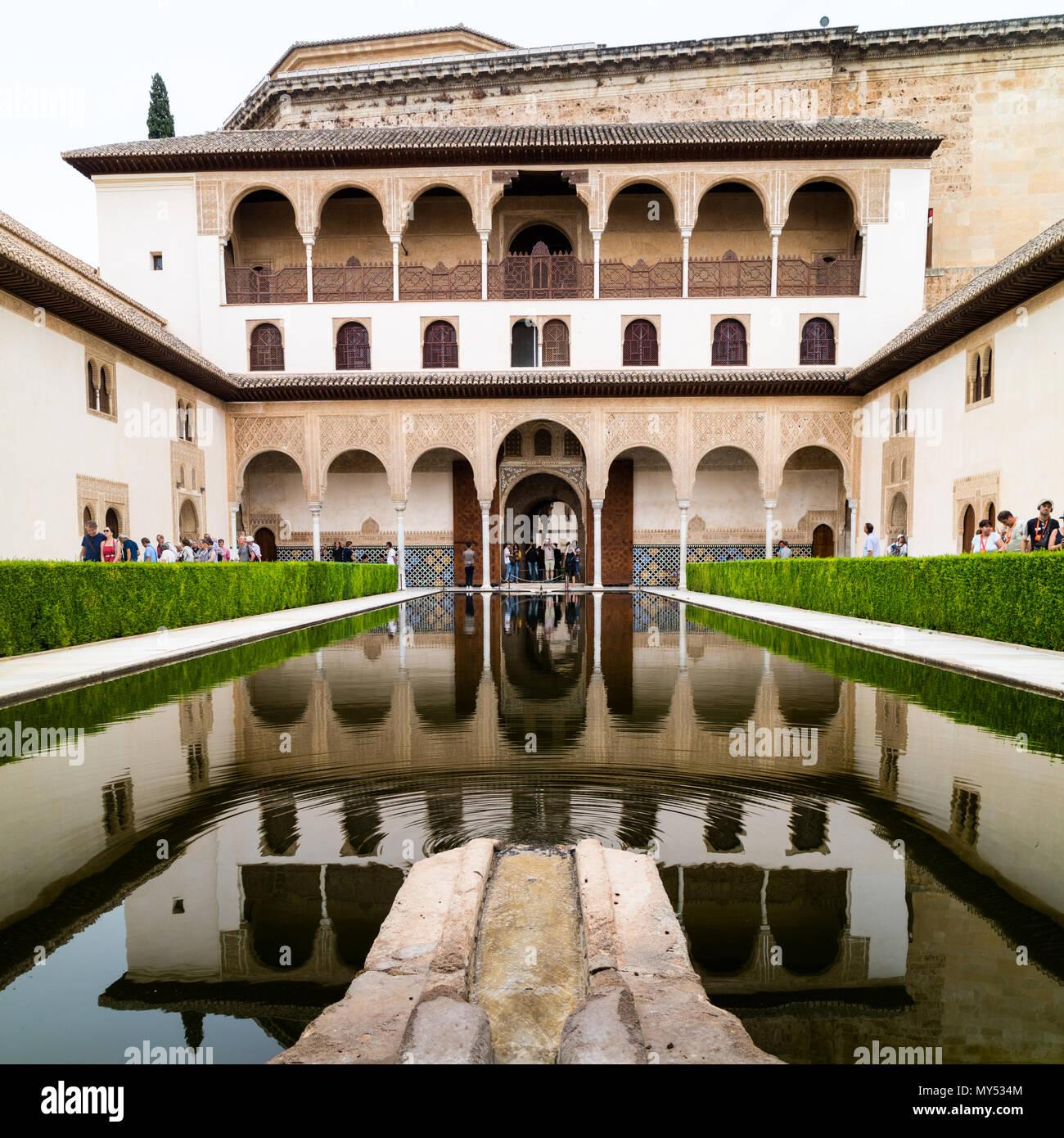 Alhambra Sage Granada Park Alhambra Ca: Alhambra Water Feature Stock Photos & Alhambra Water