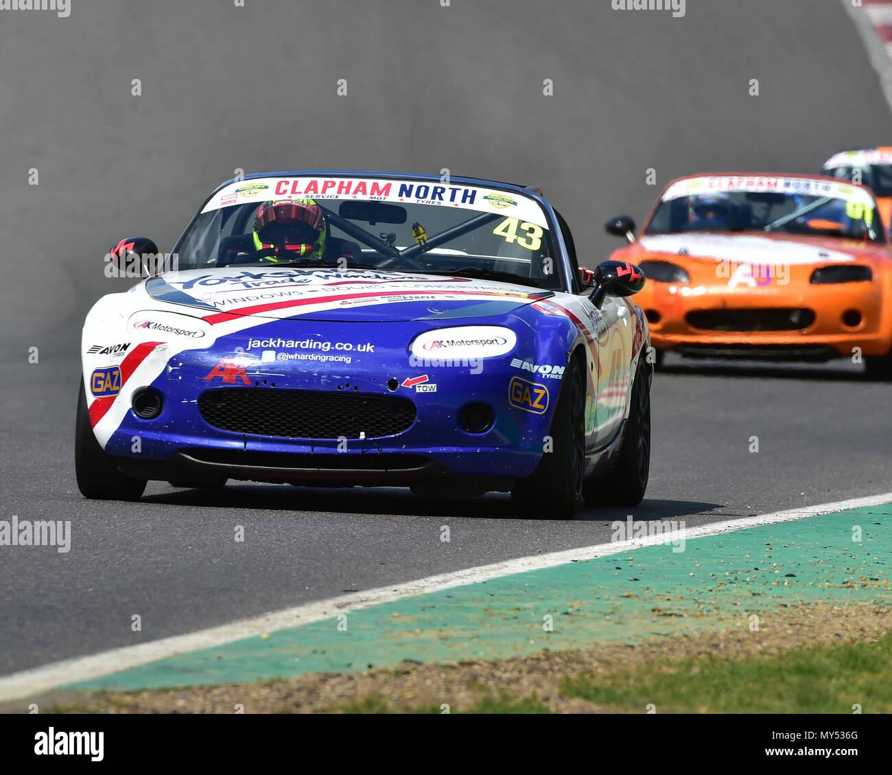 Jack Harding, Mazda MX-5 Mk3, Mazda MX5 SuperCup, TCR UK