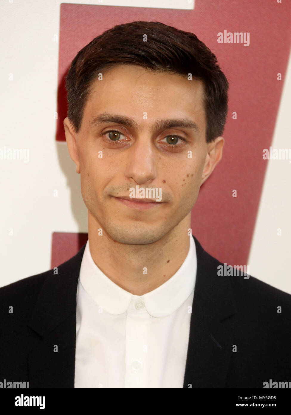 New York City, New York, USA. 5th June, 2018. Actor GIDEON GLICK attends the 'Ocean's 8' world premiere held at Alice Tully Hall at Lincoln Center. Credit: Nancy Kaszerman/ZUMA Wire/Alamy Live News - Stock Image