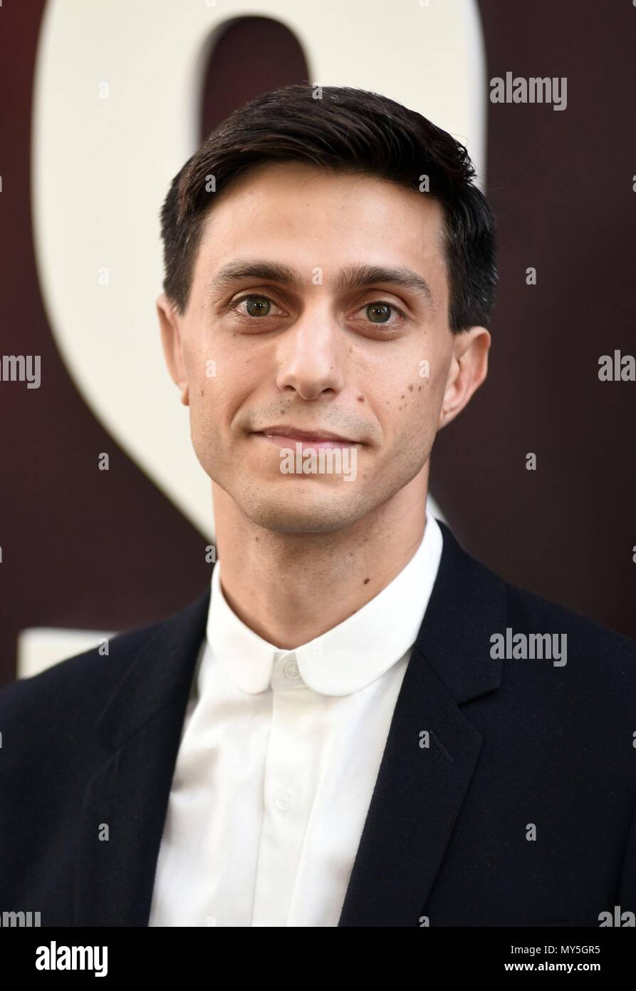 New York, NY, USA. 5th June, 2018. Gideon Glick at arrivals for OCEAN'S 8 Premiere, Alice Tully Hall at Linocln Center, New York, NY June 5, 2018. Credit: Everett Collection Inc/Alamy Live News - Stock Image