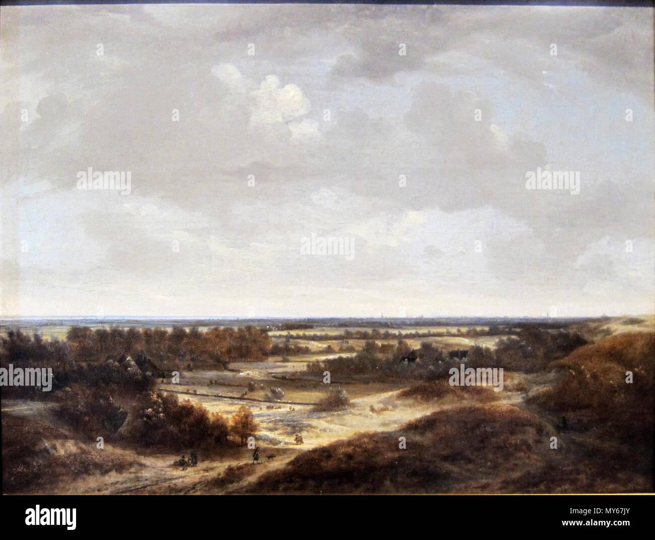 Dune landscape . Français : Paysage de dunes . 17th century 505 ...