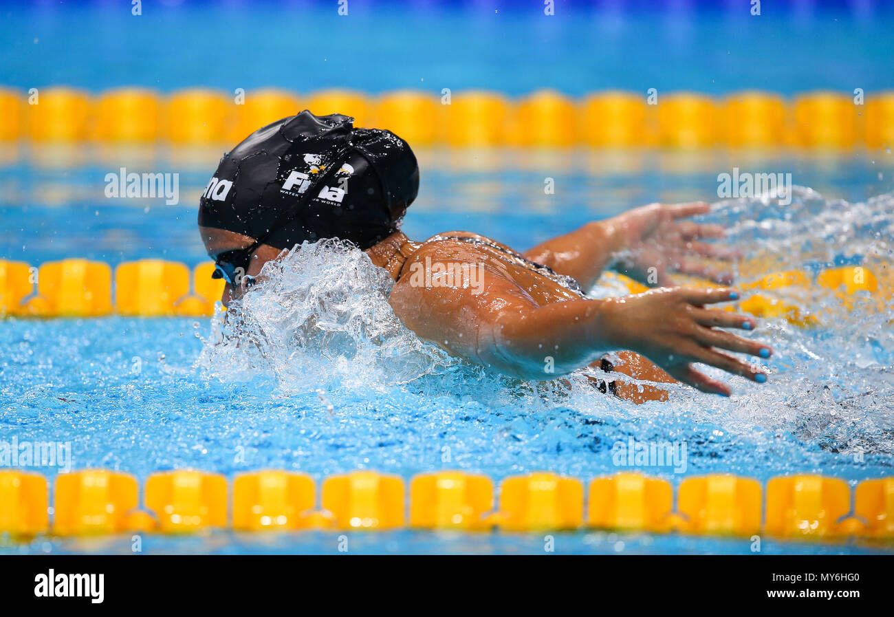 BUDAPEST, HUNGARY - JULY 23:  during day 10 of the FINA World Championships at Duna Arena on July 23, 2017 in Budapest, Hungary. (Photo by Roger Sedres/ImageSA/Gallo Images) - Stock Image