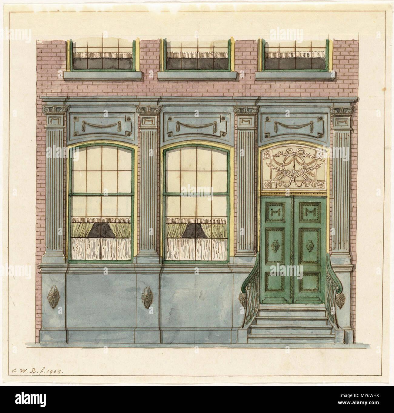 catalogusnummer pr 1000302 plaats alkmaar beschrijving hardstenen onderpui pand langestraat dubbele deur met bovenlicht daarvoor een trap met vier