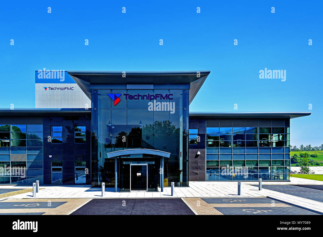 Newcastle upon Tyne Technip FMC Subsea Technologies - Stock Image