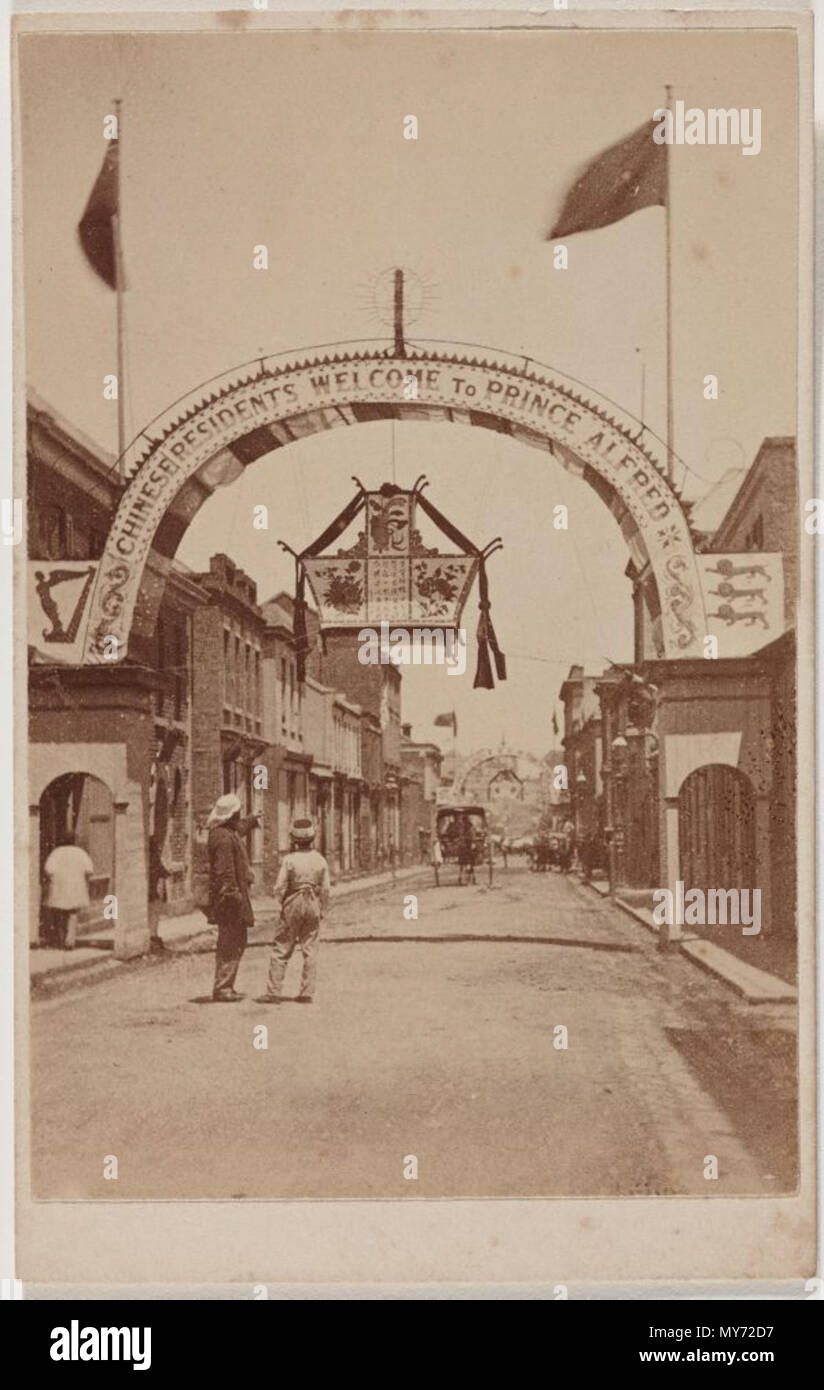 Francais Recto De La Carte Visite Thomas Foster Chuck Pour Son Studio Royal Arcade A Melbourne 1868 1826 1898 527