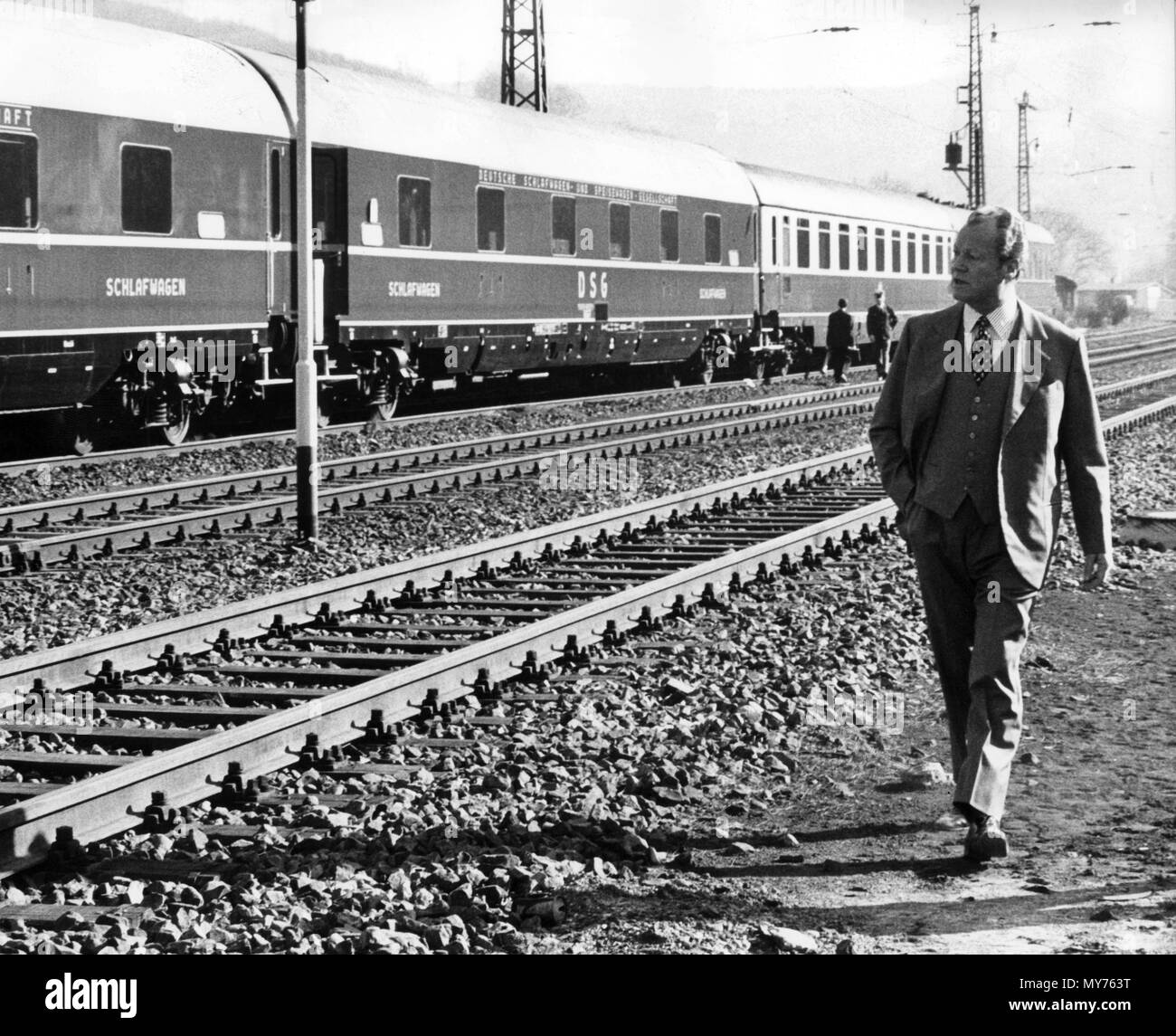 Bildergebnis für willy brandt in his train images
