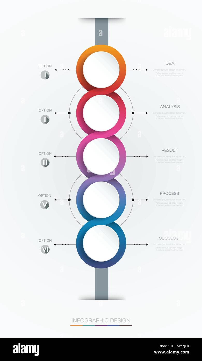 Vector infographics timeline design template with 3d paper label vector infographics timeline design template with 3d paper label integrated circles backgroundtime line infographic for content business info grap friedricerecipe Gallery