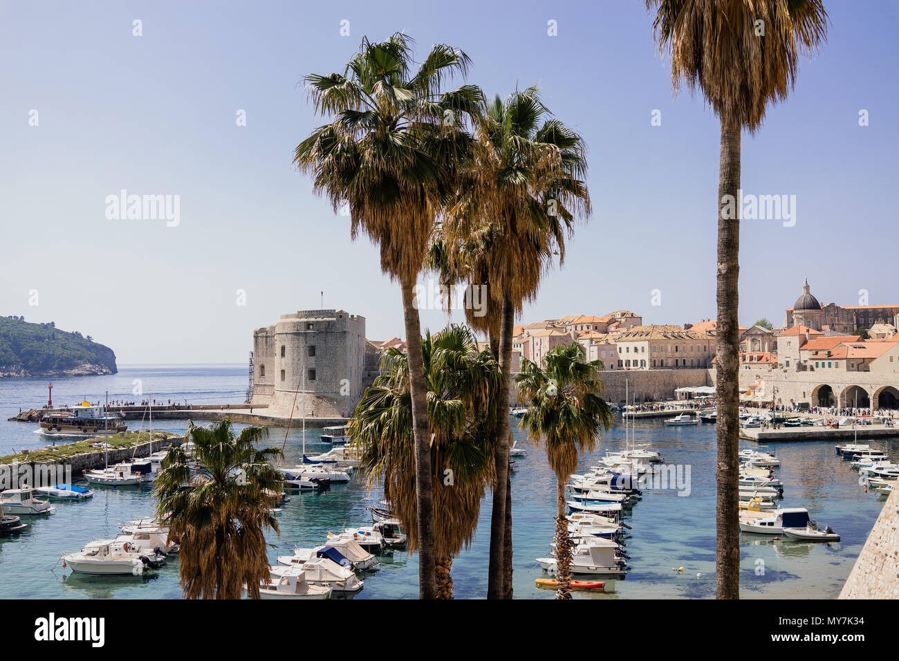 City of Dubrovnik, Croatia - Stock Image