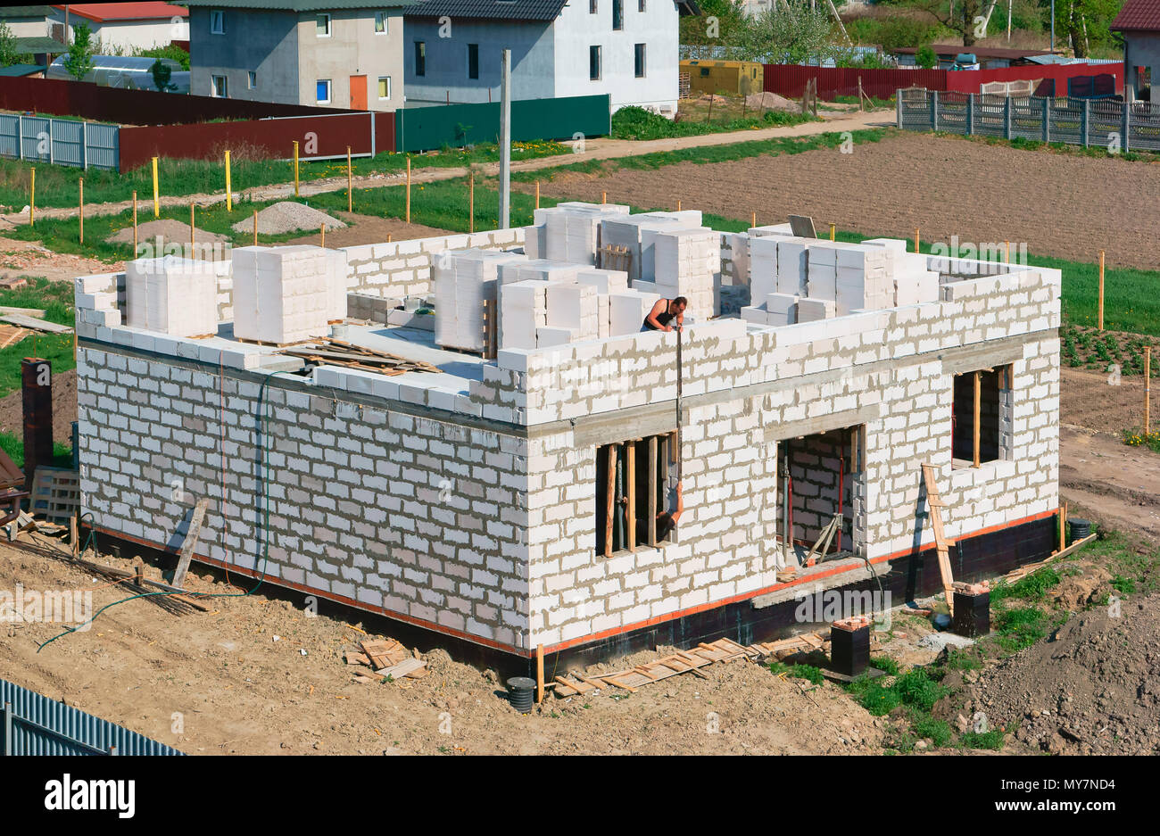 The foundation for the house of aerated concrete: advantages and disadvantages 52