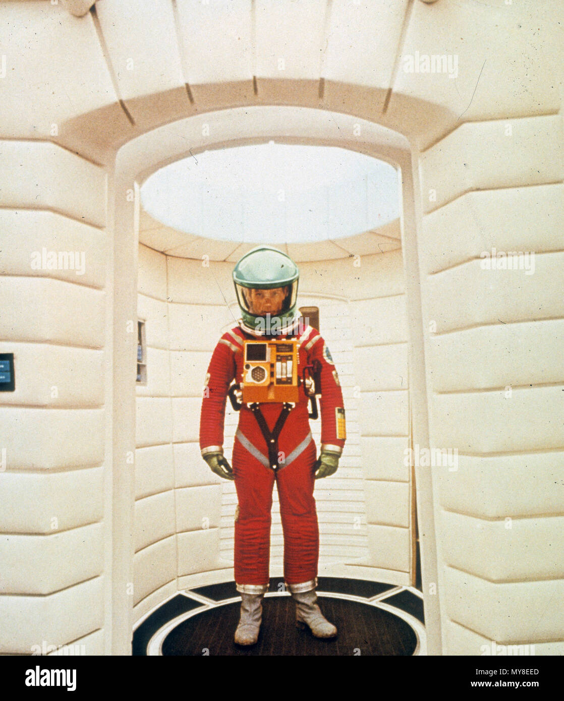 2001: A SPACE ODYSSEY . A 1968 MGM film with Keir Dullea - Stock Image