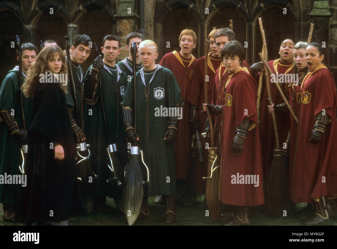 HARRY POTTER AND THE CHAMBER OF SECRETS 2002 Warner Bros film - Stock Image