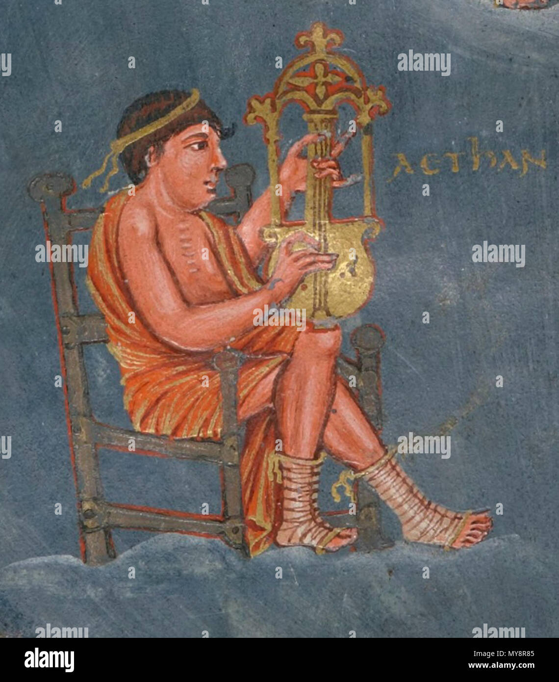 English Lute Or Lyre From The Bible Of Charles The Bald 9th Century String Instruments Between Cithara Lyre And Lute See Also Category Crwth And Category Citole References Paul Butler The Citole Project Historical