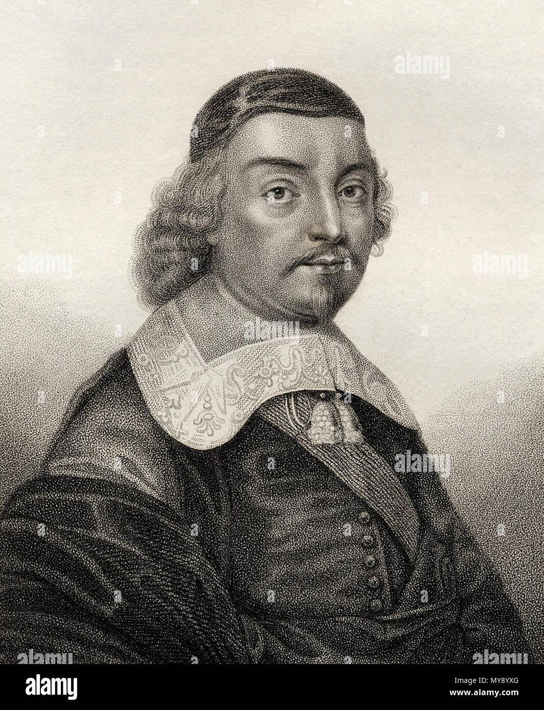 . English: Mildmay Fane, 2nd Earl of Westmorland (1602-1666) . circa 1640. Contemporary portrait 14 2ndEarlOfWestmorland Stock Photo