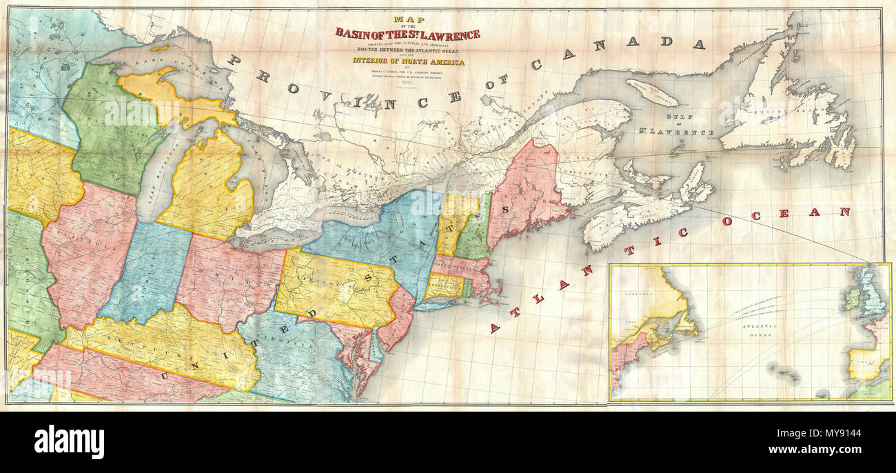 Map of the Basin of the St. Lawrence Showing also the ... Saint Lawrence River Map Of North America on map of lake st. clair, map of appalachian mountains, map of 45th parallel north, map of ellicott creek, map of cazenovia creek, map of saint francis river, map of new france, map of chesapeake bay, map of saint johns river, map of saint lawrence seaway, map of straits of mackinac, map of saint lawrence gulf, st. lawrence river, map of st. lawrence canada, map of saint clair river, map of lake michigan, map of gulf of california, map of st. lawrence county ny, map of lake george, map of tonawanda creek,
