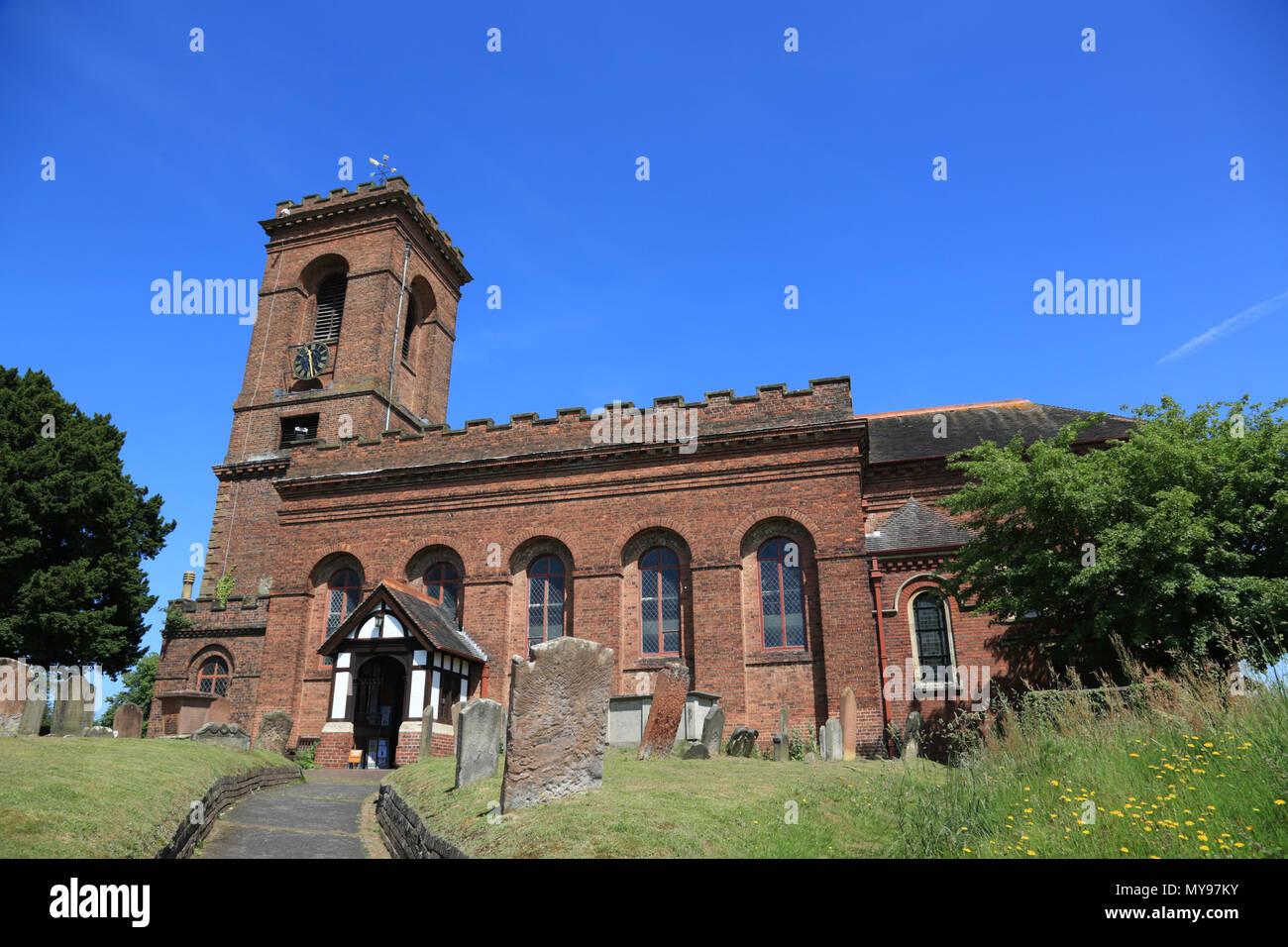 St. John`s church, Wolverley, Kidderminster, UK. - Stock Image