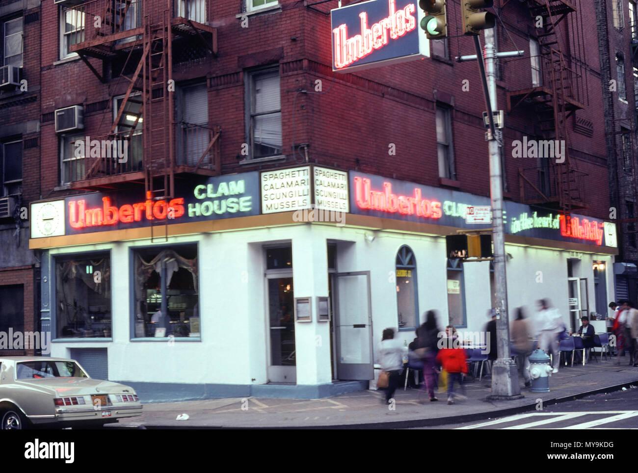 1986 Umberto's Clam House, Lit...