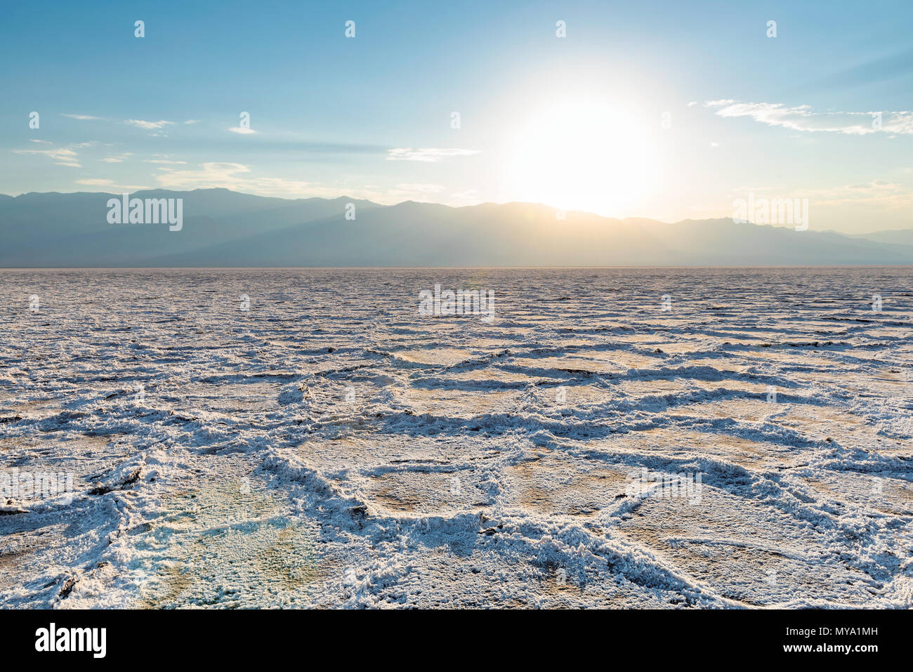 Death Valley National Park, California, USA. - Stock Image