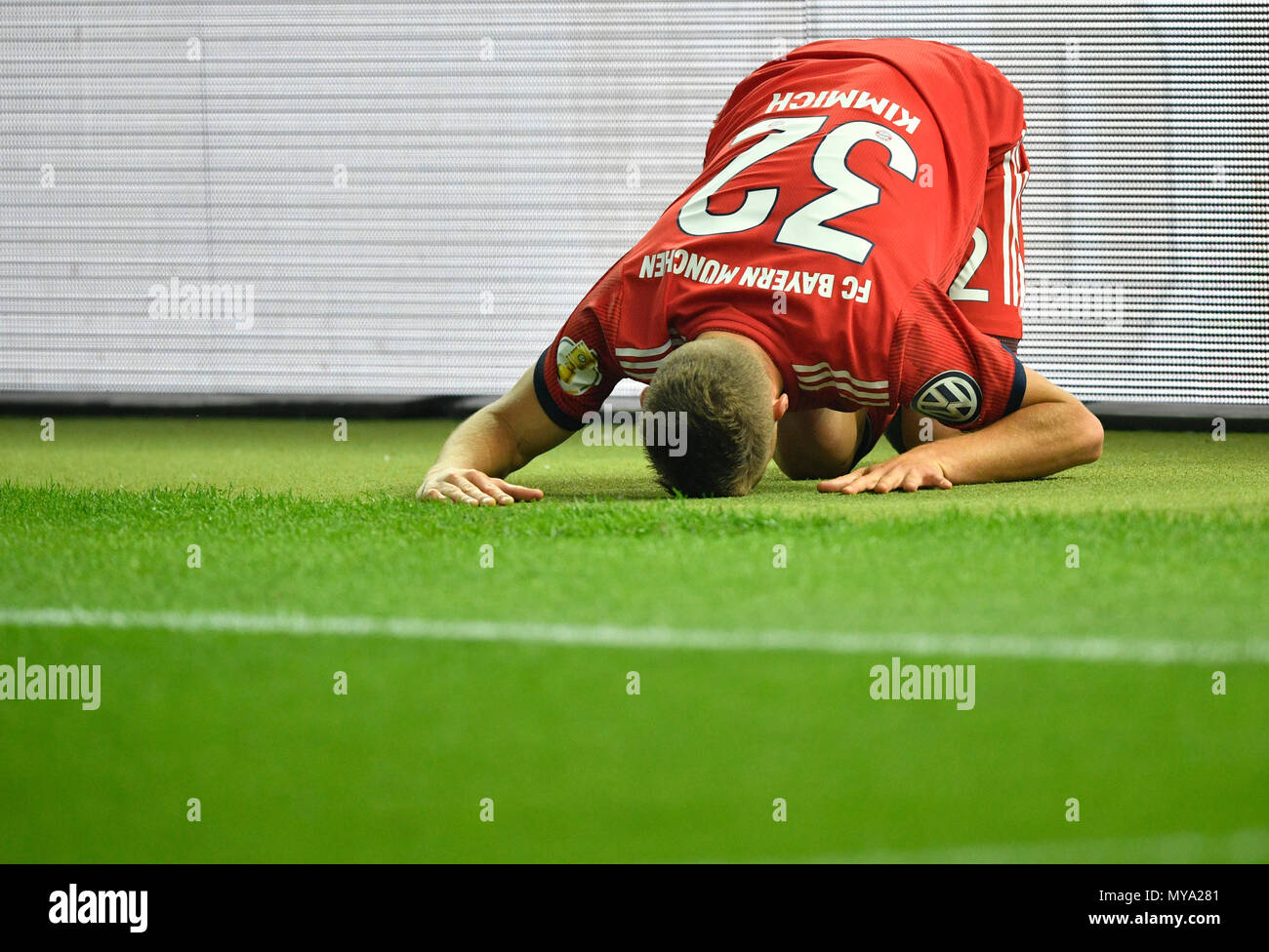 Joshua Kimmich FC Bayern Munich disappointed, DFB Cup Final 2018, Olympic Stadium Berlin, Germany - Stock Image