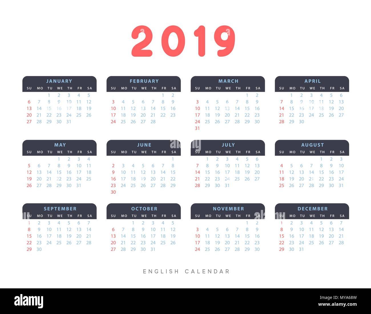 july 2019 calendar stock photos  u0026 july 2019 calendar stock