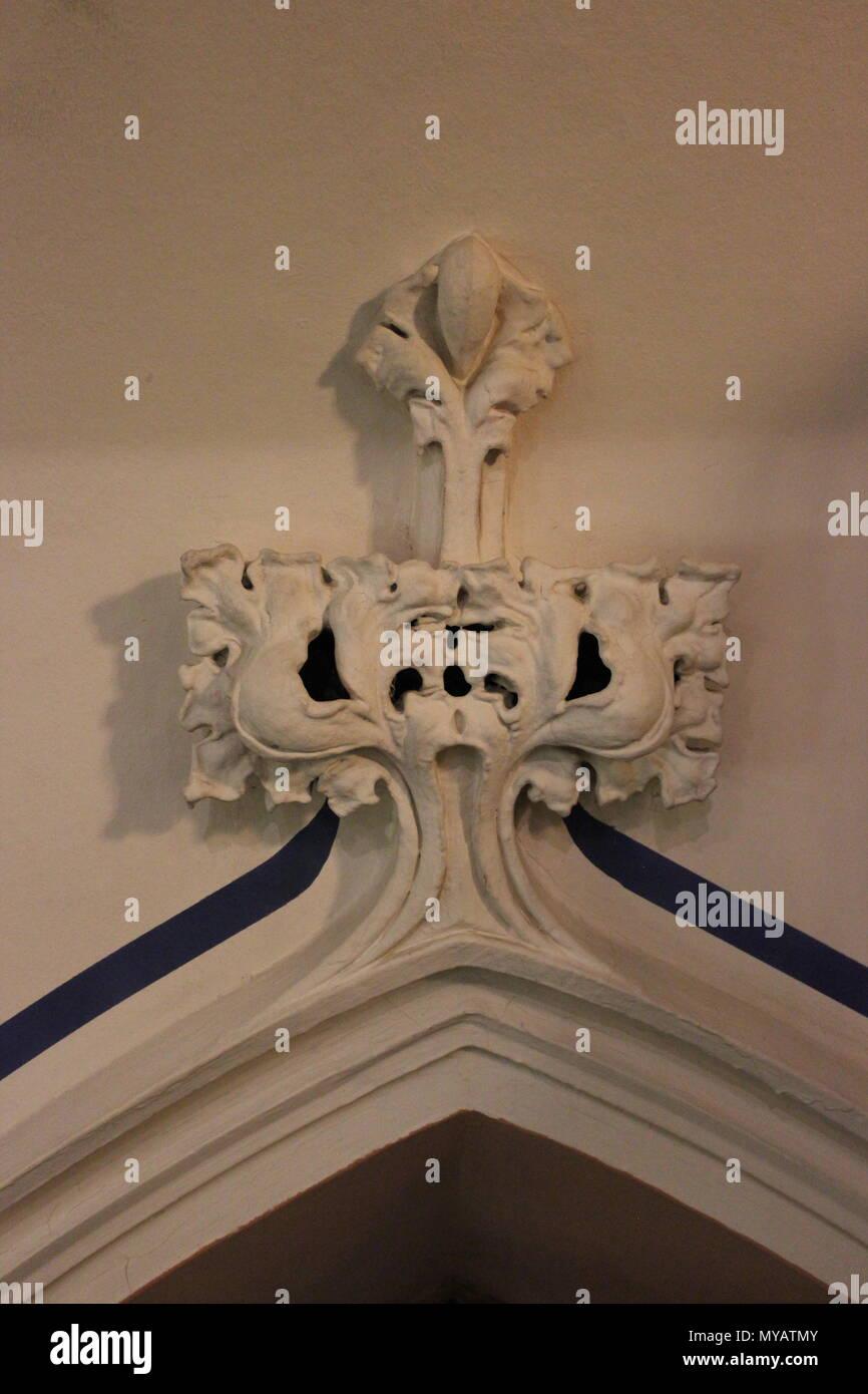 At Ebenezer Lutheran church in Chicago, Illinois. - Stock Image