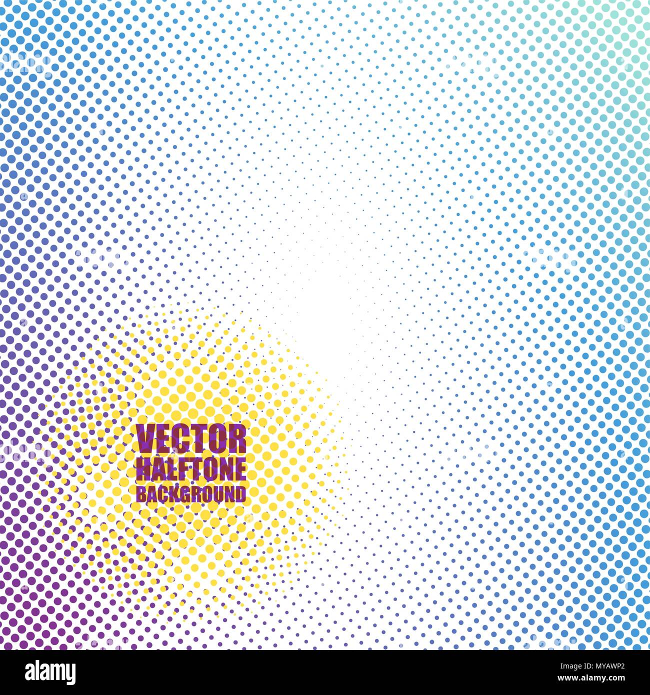 Abstract halftone background - Stock Image