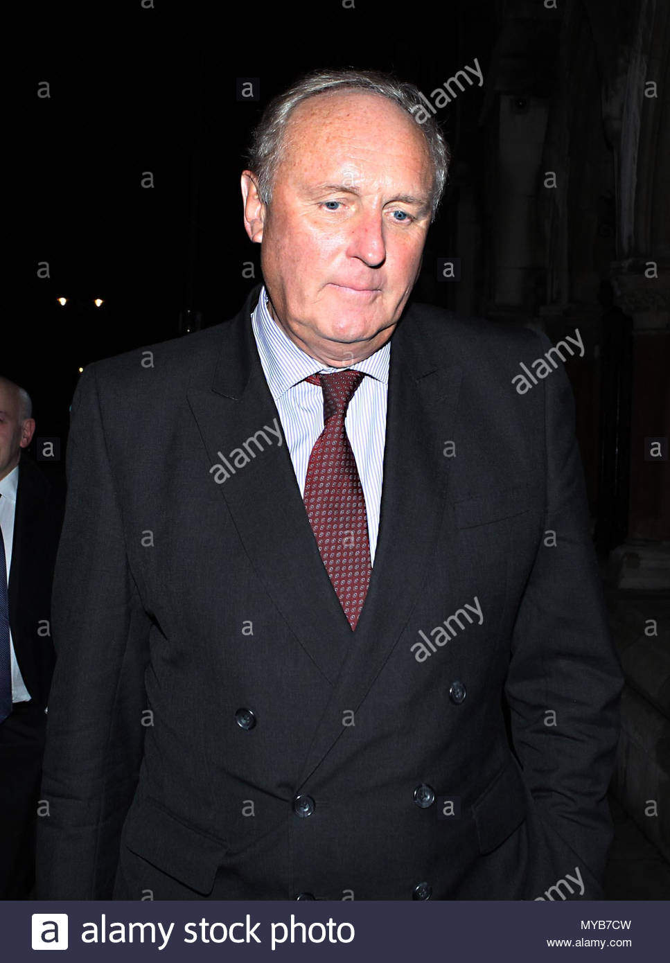 """File photo dated 6/2/2012 of Paul Dacre who has been appointed chairman and editor-in-chief of Associated Newspapers, in a move which will see him """"step back"""" from his role as editor of the Daily Mail from November, the paper's owners DMGT have said. - Stock Image"""