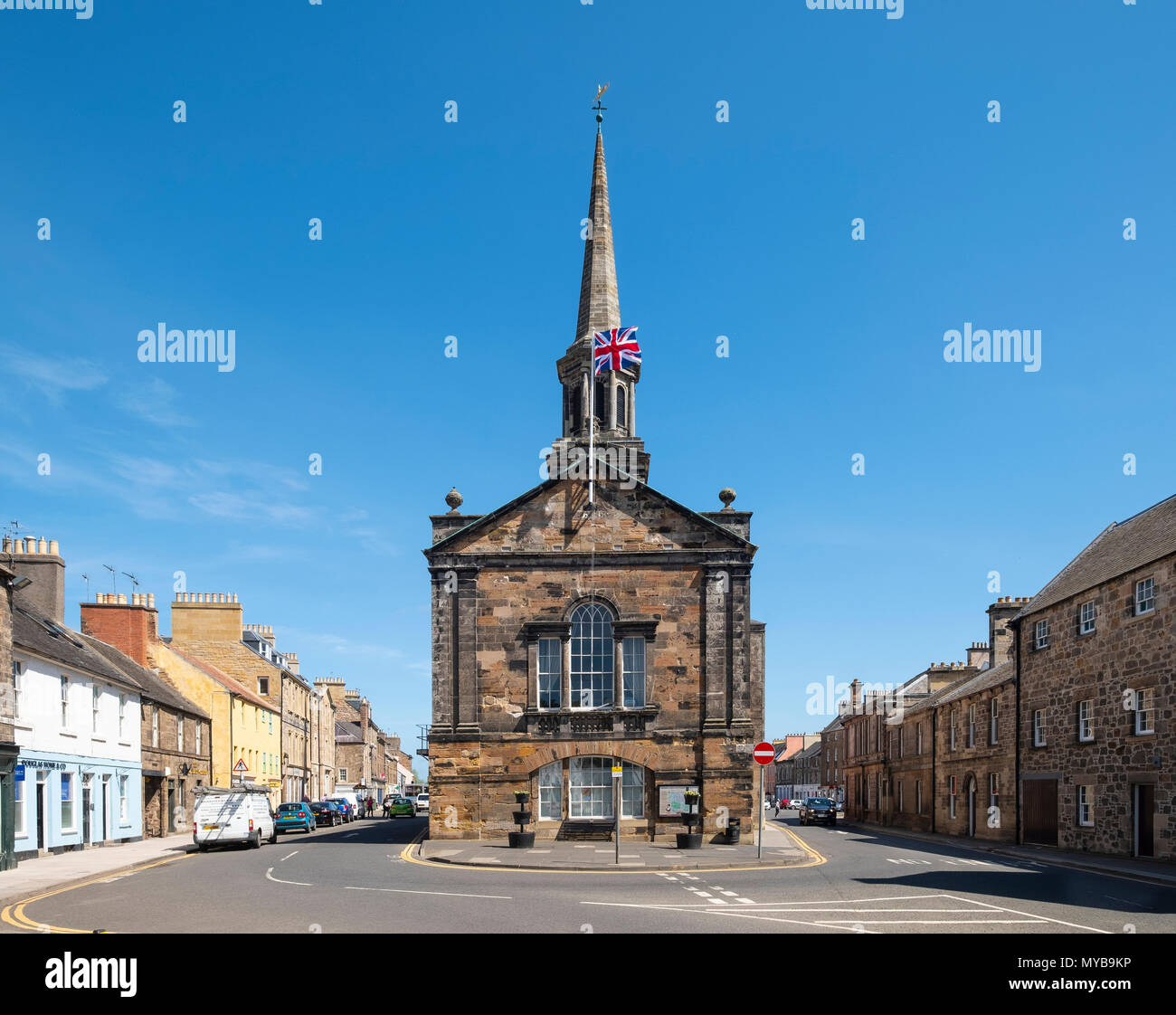 The Town House in Haddington , East Lothian, Scotland, UK - Stock Image