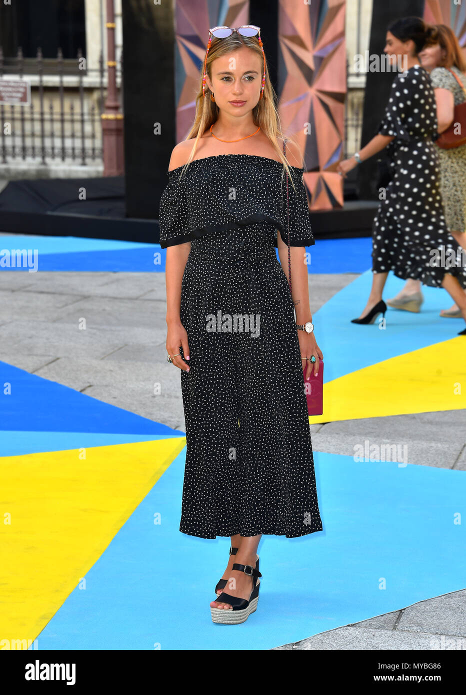 Lady Amelia Windsor arriving for Royal Academy of Arts Summer ...