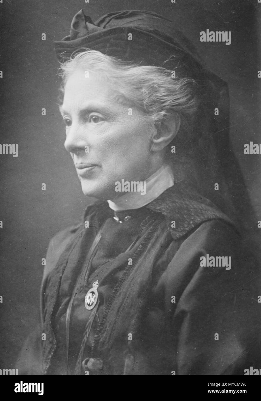 Margaret Elizabeth Leigh (1849 – 1945), later Margaret Elizabeth Leigh Child-Villiers, Countess of Jersey, English noblewoman, activist and writer. - Stock Image
