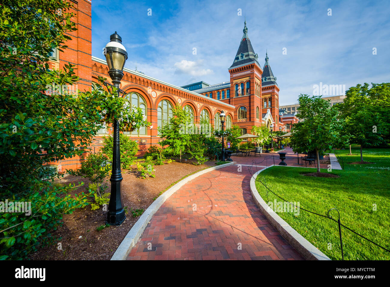 The Smithsonian Arts & Industries Building, in Washington, DC. - Stock Image