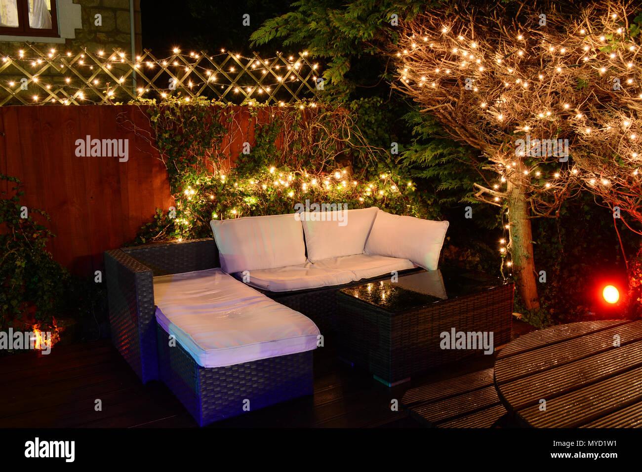 buy popular aff5a ad023 Fairy Lights Garden Stock Photos & Fairy Lights Garden Stock ...