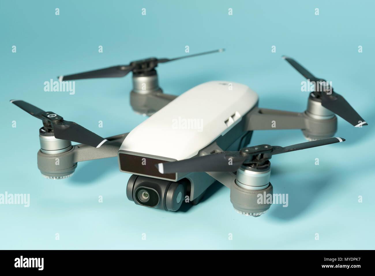 Quadcopter Drone Stock Photos & Quadcopter Drone Stock Images - Alamy