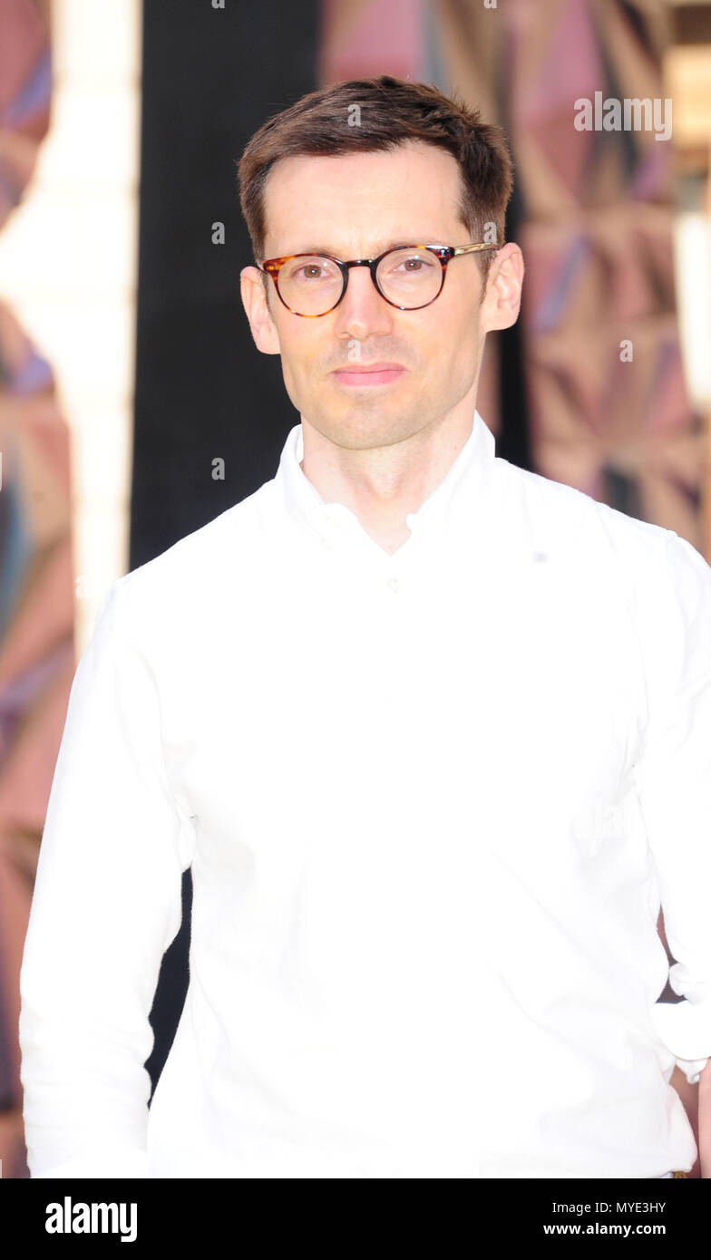 London, UK. 6th June, 2018. Erdem Moralioglu  attending Royal Academy of Arts Summer Exhibition 2018 party London Wednesday 6th June Credit: Peter Phillips/Alamy Live News - Stock Image