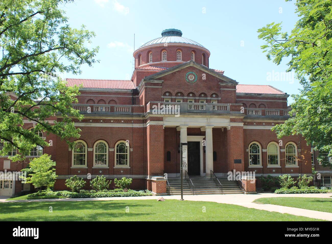Alumni Hall, Miami University, Oxford, Ohio - Stock Image
