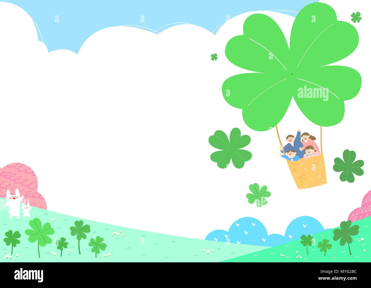 Vector - Welcome spring. Enjoy spring time illustration 009 - Stock Vector