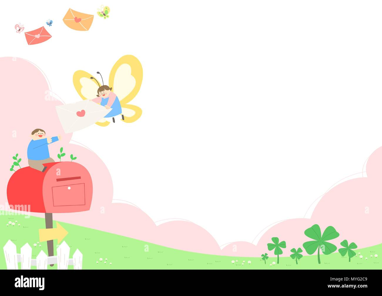 Vector - Welcome spring. Enjoy spring time illustration 008 - Stock Vector