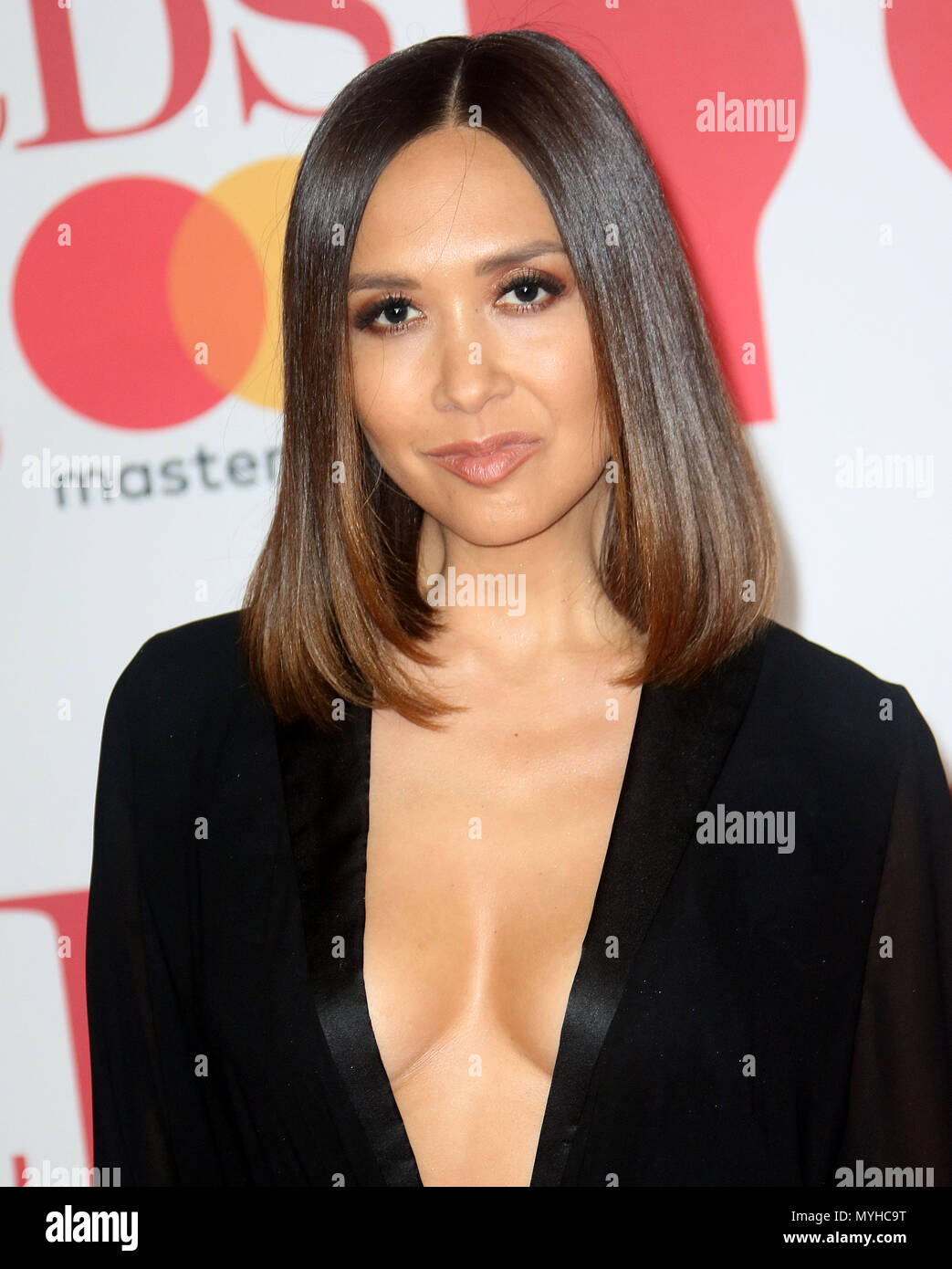 6e1a9d298ca76f Feb 21, 2018 - Myleene Klass attending the BRITS Awards 2018 at O2 Arena in